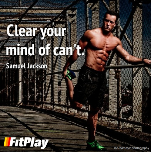 Clear your mind if can't - FitPlay